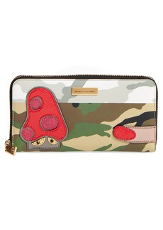 MARC JACOBS Camo Leather Wallet