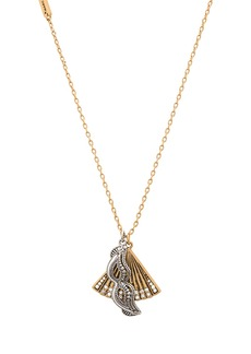 Marc Jacobs Charms Fan Mask Necklace