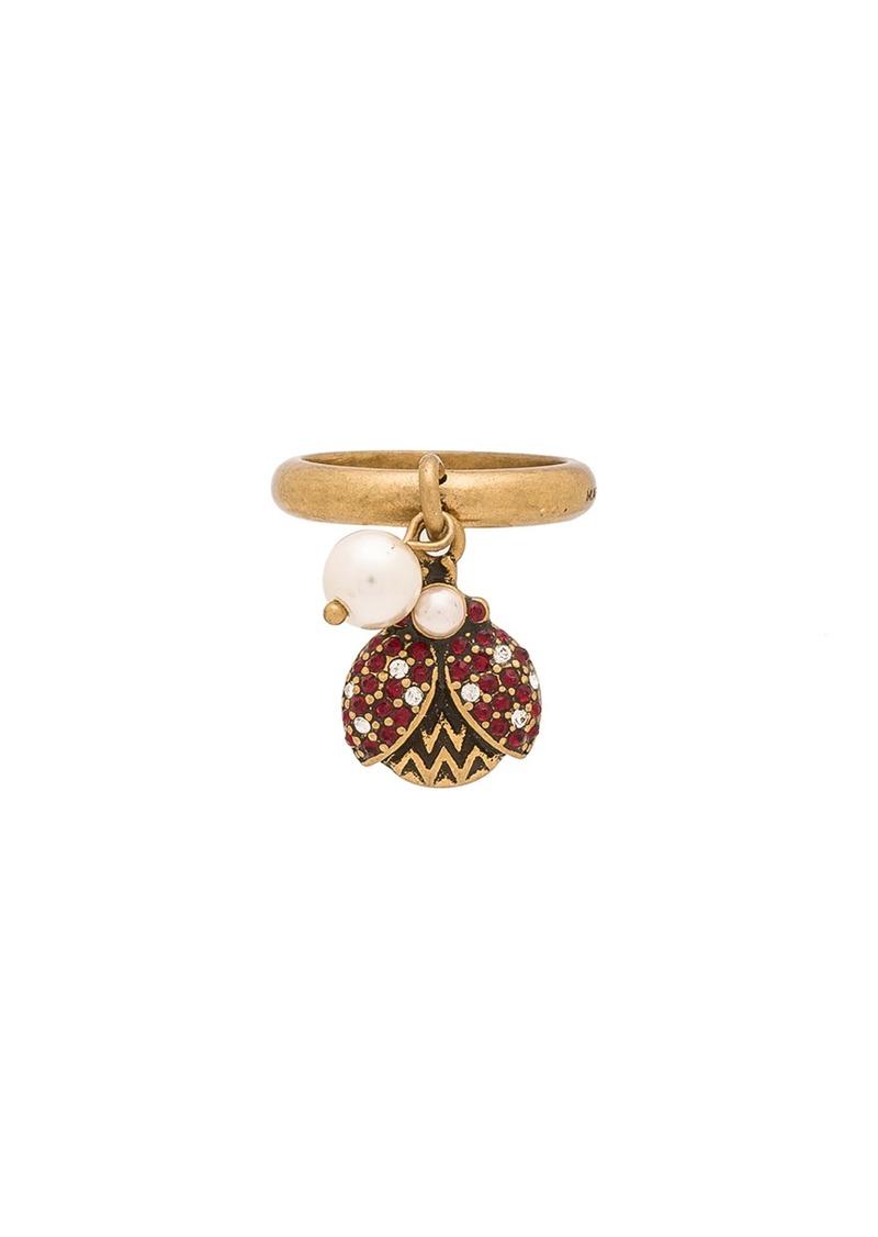 Marc Jacobs Charms Ladybug Ring