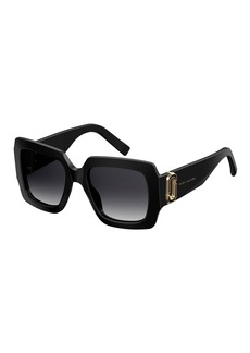 Marc Jacobs Chunky Square Acetate Sunglasses