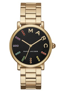 MARC JACOBS Classic Crystal Bracelet Watch, 36mm