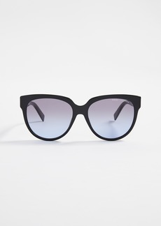 Marc Jacobs Classic Round Acetate Sunglasses