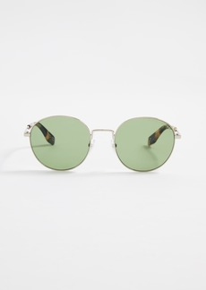 Marc Jacobs Classic Round Sunglasses