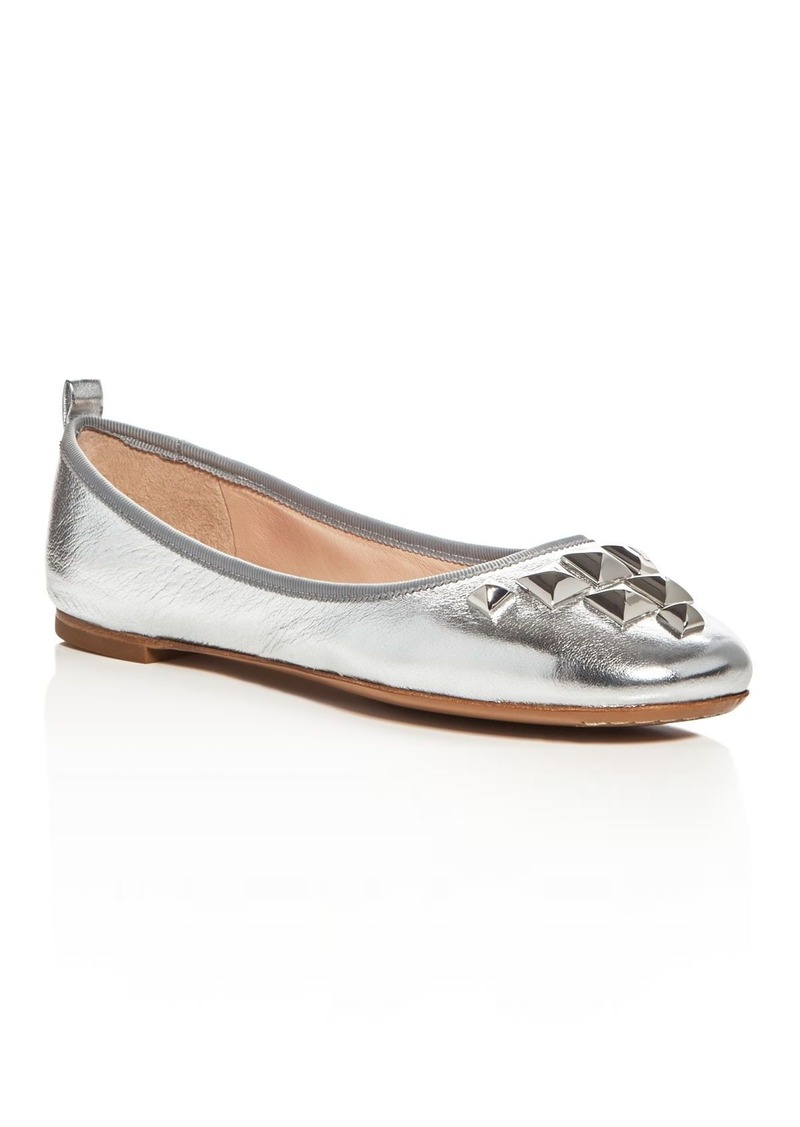 e6d2a1dff35 On Sale today! Marc Jacobs MARC JACOBS Cleo Studded Ballet Flats