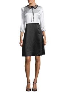 Marc Jacobs Colorblock A-Line Dress