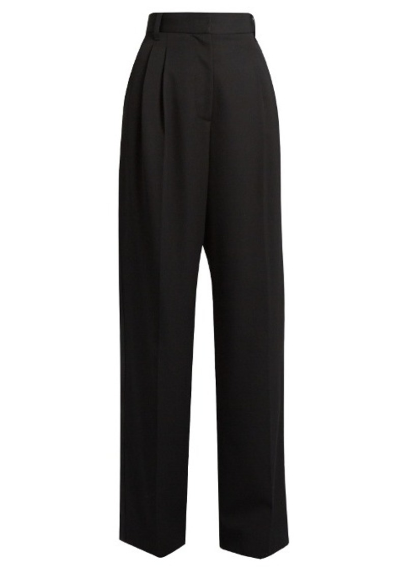 Marc Jacobs Contrast-trim wool trousers