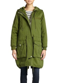 Marc by Marc Jacobs Cotton Army Parka