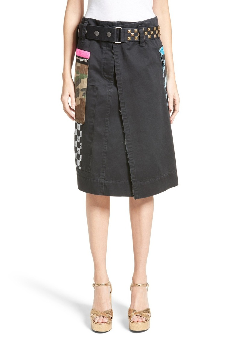 0103968f5 Marc Jacobs MARC JACOBS Cotton Sateen Wrap Cargo Skirt | Skirts