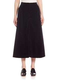 Marc Jacobs Cotton Velvet Culottes