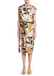 MARC JACOBS Cowl Neck Silk Dress