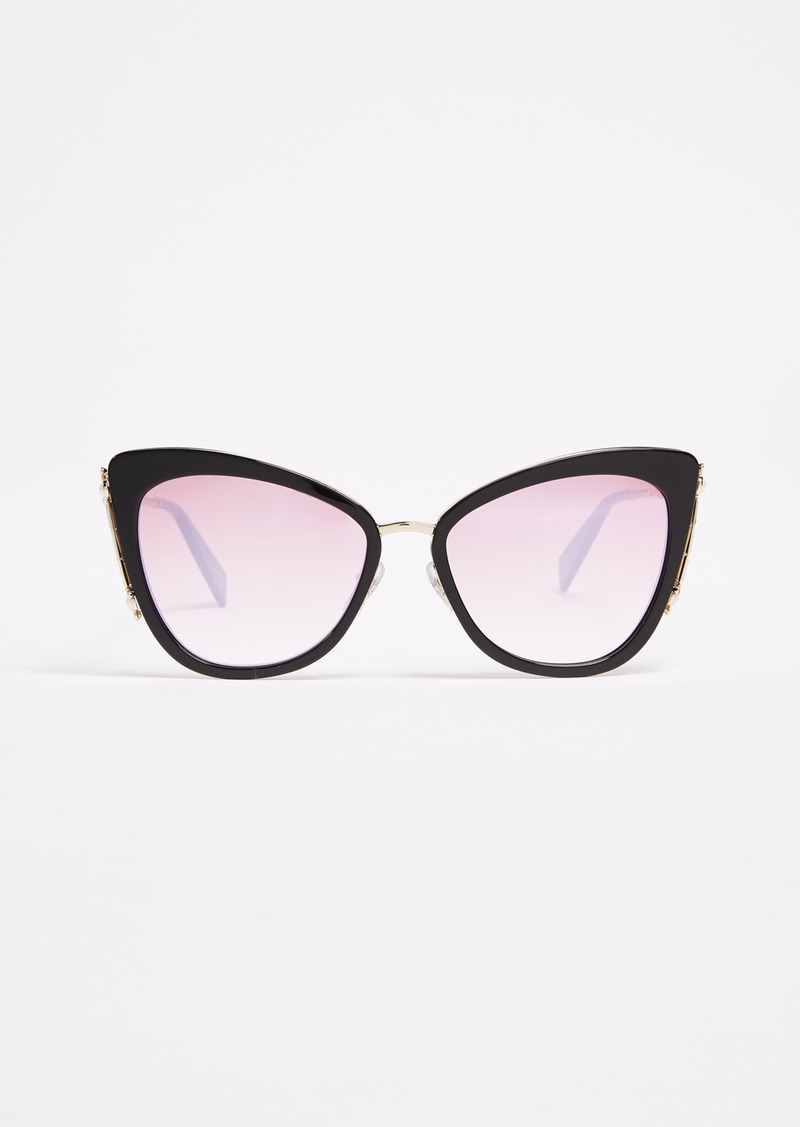 d65b0dbfa6c On Sale today! Marc Jacobs Marc Jacobs Crystal Embellished Cat Eye ...