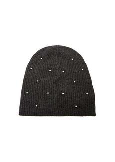Marc Jacobs Crystal-embellished wool-blend beanie hat