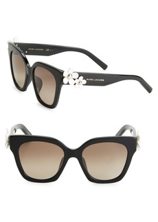 Marc Jacobs Daisy 52MM Square Sunglasses