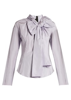 Marc Jacobs Decorative-pussybow taffeta blouse