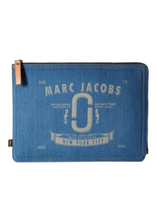 "Marc Jacobs Denim Tech 13"" Computer Case"
