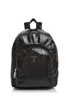 MARC JACOBS Double Pack Leather Backpack