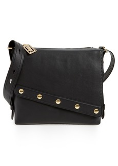 MARC JACOBS Downtown Stud Leather Shoulder Bag