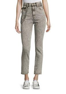 Marc Jacobs Embellished Denim Pants