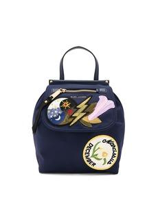 Marc Jacobs Embellished Nylon Zip Backpack