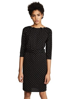 Marc Jacobs Embroidered Dress with Belt