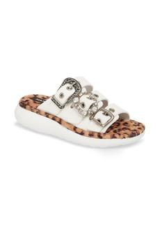 MARC JACOBS Emerson Faux Fur Sport Sandal (Women)
