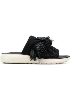 Marc Jacobs Emerson pom pom sports sandals - Black