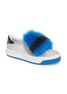 MARC JACOBS Empire Faux Fur Trim Sneaker (Women)