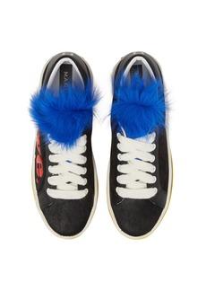 MARC JACOBS Empire Love Genuine Shearling & Calf Hair Trim Sneaker (Women)