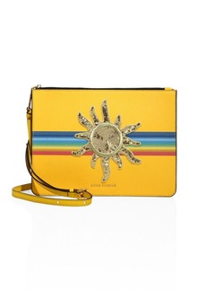 Marc Jacobs Flat Leather Crossbody Bag