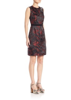 Marc Jacobs Floral Jacquard Dress