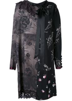 Marc Jacobs floral patchwork shift dress