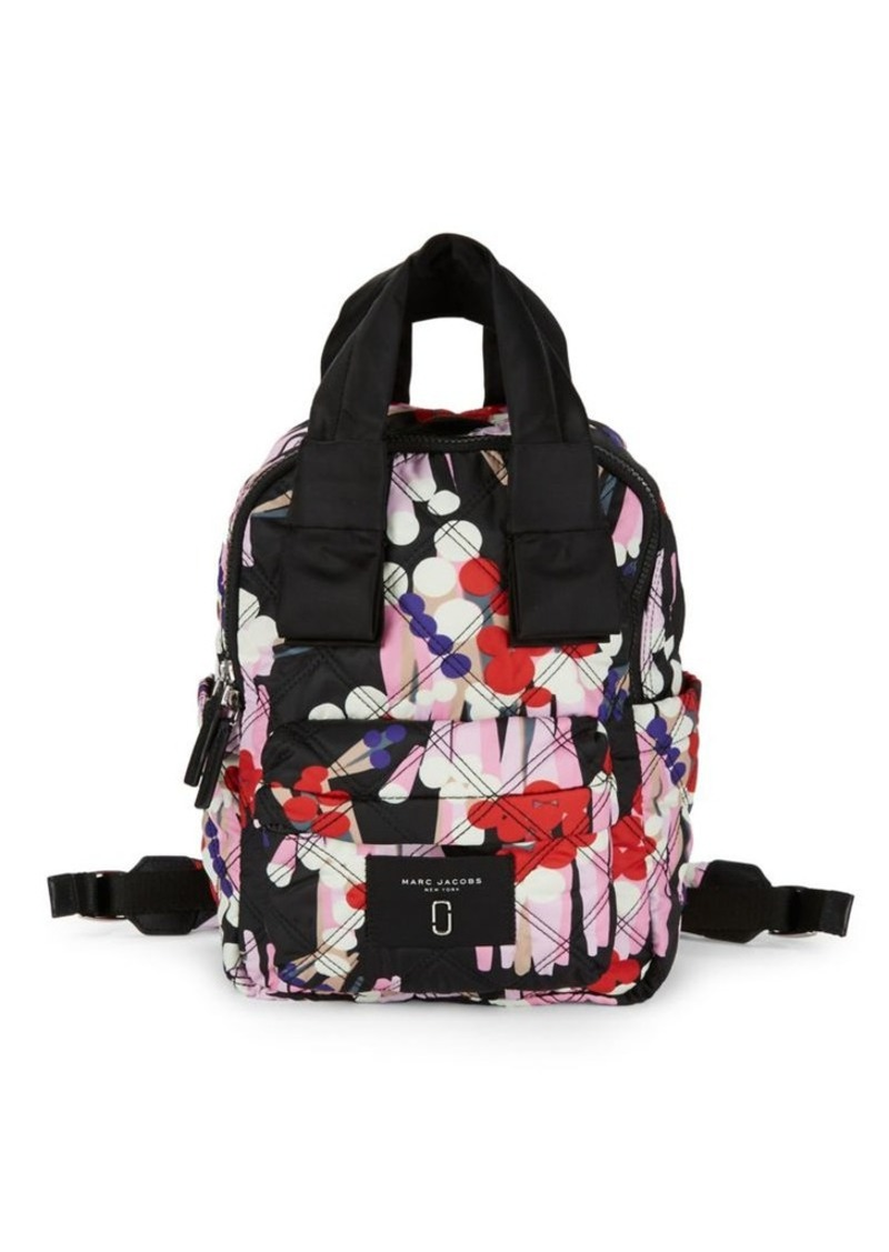 Marc Jacobs Marc Jacobs Floral Quilted Leather Backpack | Handbags ...