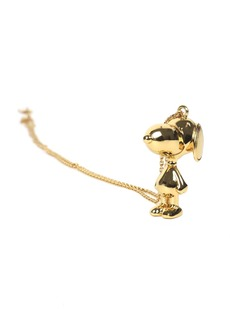 Marc Jacobs Gold Peanuts Snoopy Necklace