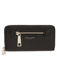 MARC JACOBS 'Gotham' Leather Continental Wallet