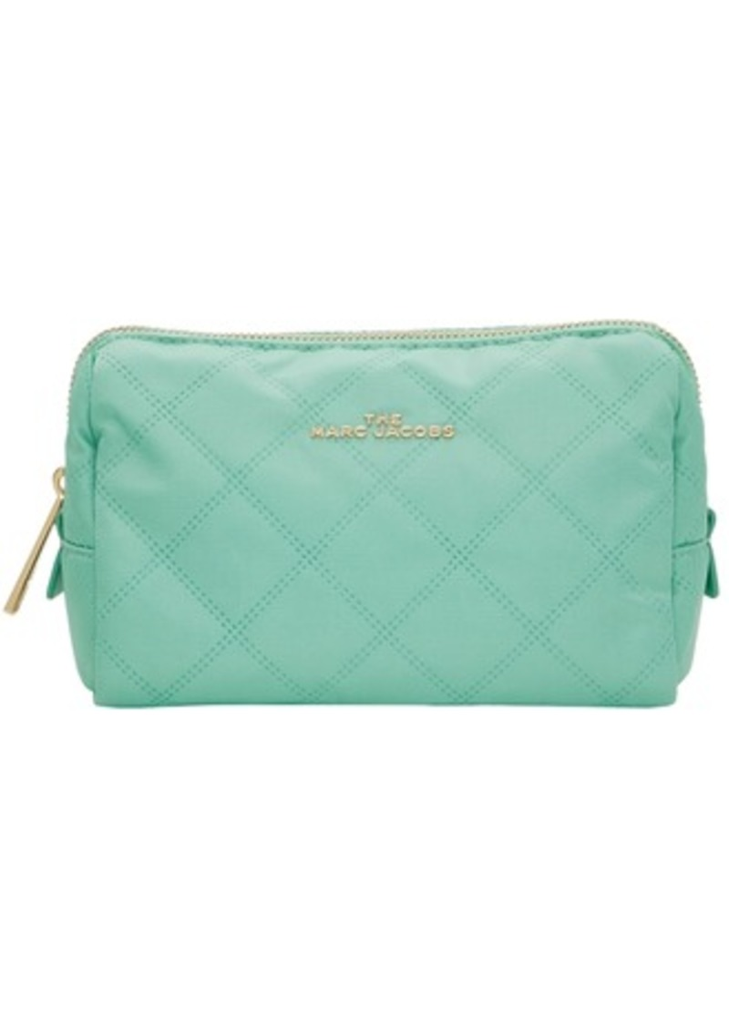 Marc Jacobs Green 'The Beauty Triangle' Pouch