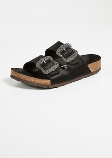 Marc Jacobs Grunge Two Strap Sandals