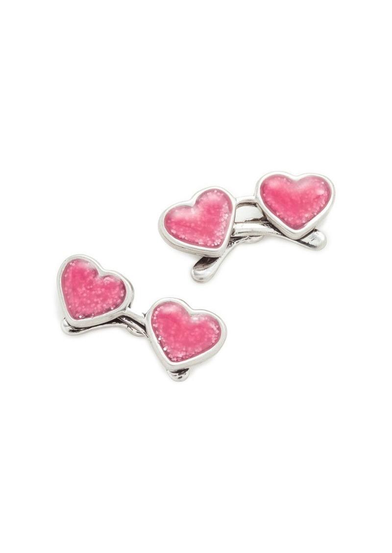 Marc Jacobs Heart Sungles Stud Earrings