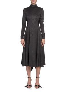 Marc Jacobs (Runway) High-Neck Glittered Dress