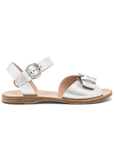 Marc Jacobs Horizon Flat Sandal in Metallic Silver. - size 36 (also in 36.5,37,38,38.5,39)