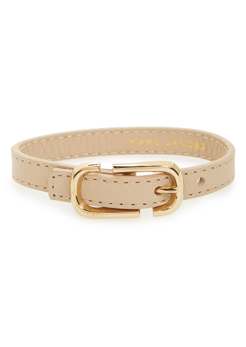 Marc Jacobs Icon Leather Bracelet