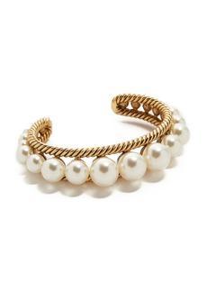 Marc Jacobs Imitation Pearl Rope Cuff Bracelet