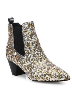 Marc Jacobs Kim Sequin Chelsea Booties