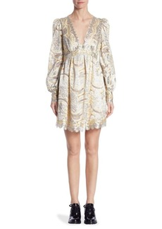 Marc Jacobs Lace Mini Dress