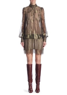 Marc Jacobs Lace Mini Dress