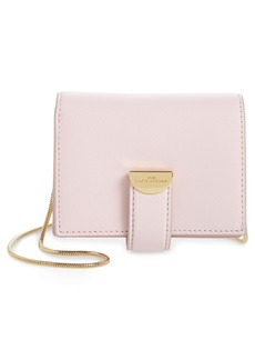 Marc Jacobs Leather Card Case on a Chain