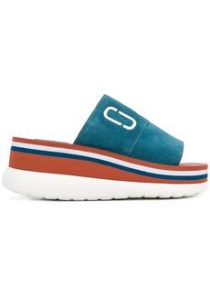 Marc Jacobs Lex platform sandals - Blue
