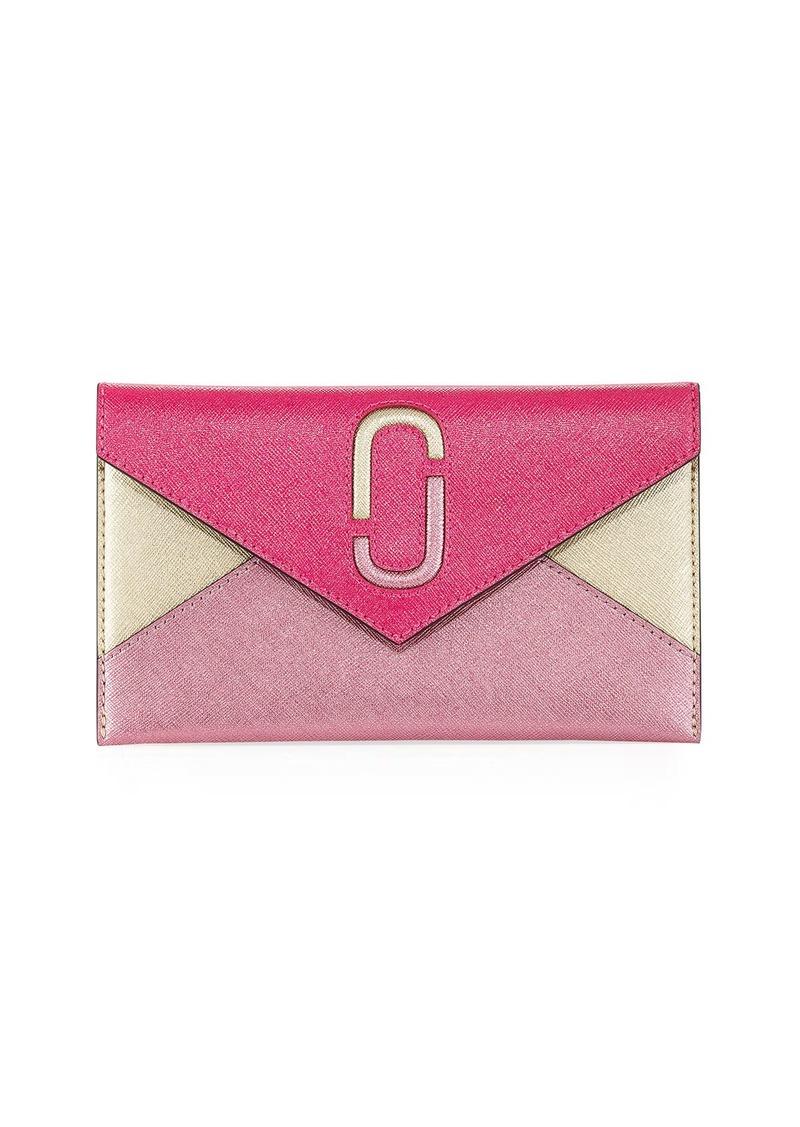 ac468df092b Marc Jacobs Liaise Metallic Envelope Clutch Bag | Handbags