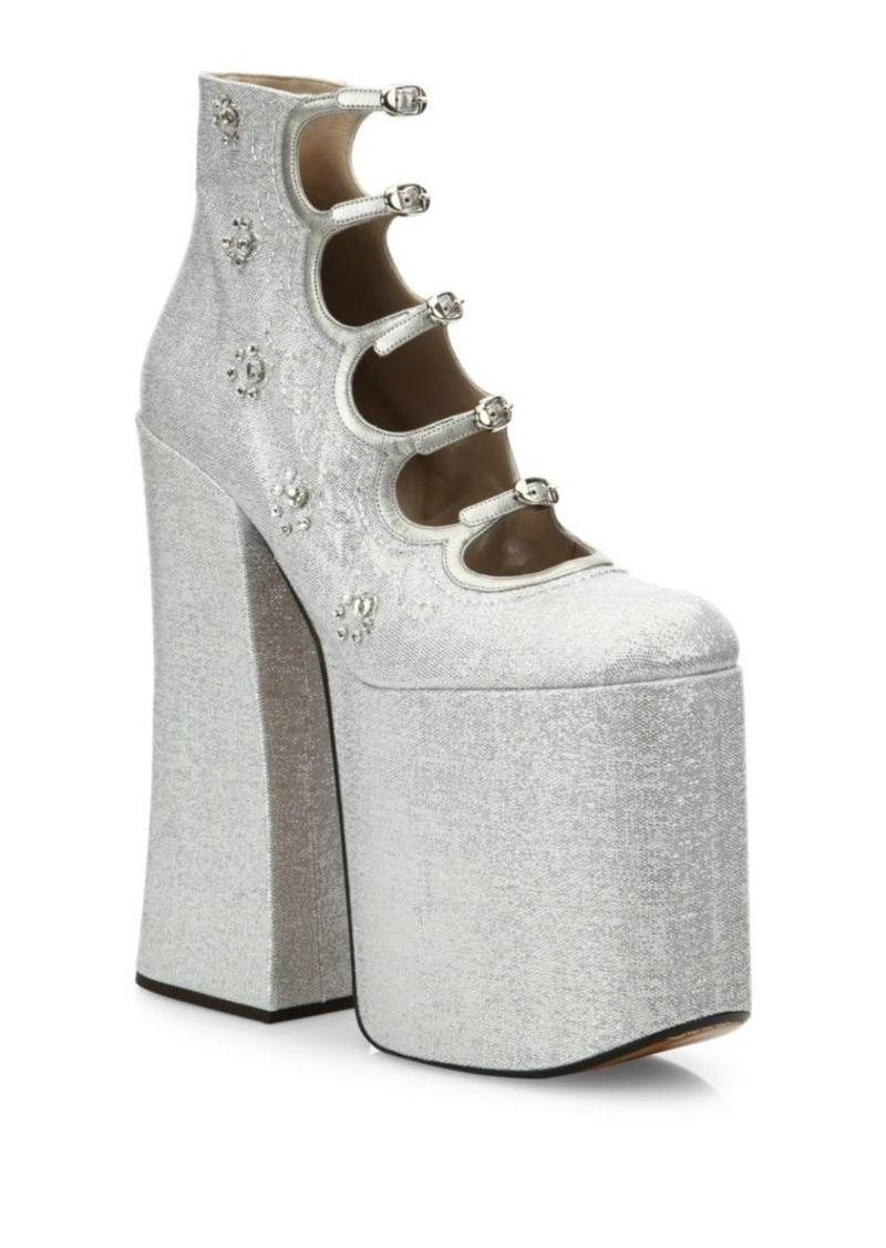 51377c156af SALE! Marc Jacobs Marc Jacobs Lili Strappy Platform Pumps