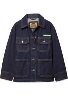 Marc Jacobs Logo-appliquéd denim jacket