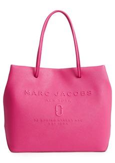 MARC JACOBS Logo Leather Shopper